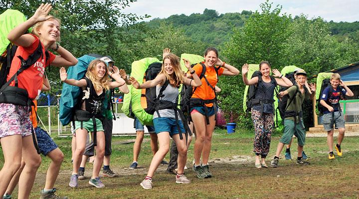 Лагерь открыт! Танцуют все!