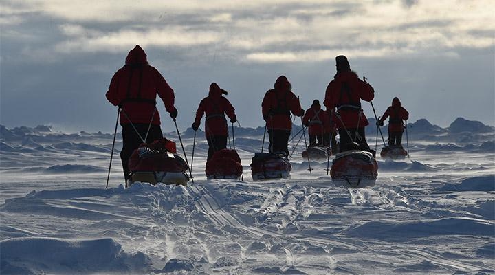 Северный полюс – это большая мечта.