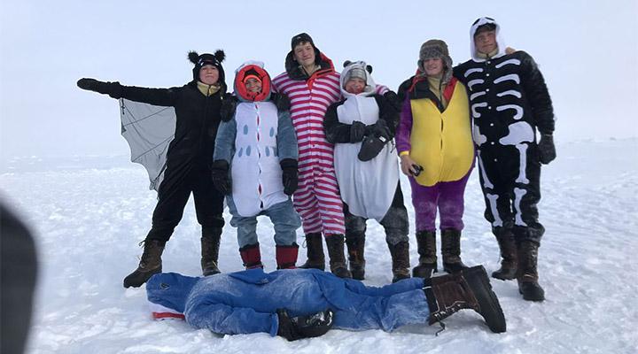 Диковинные полярные звери