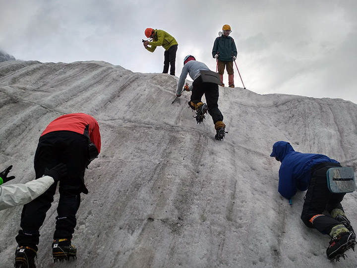 Альпсборы инструкторов «Большого Приключения» в долине Безенги