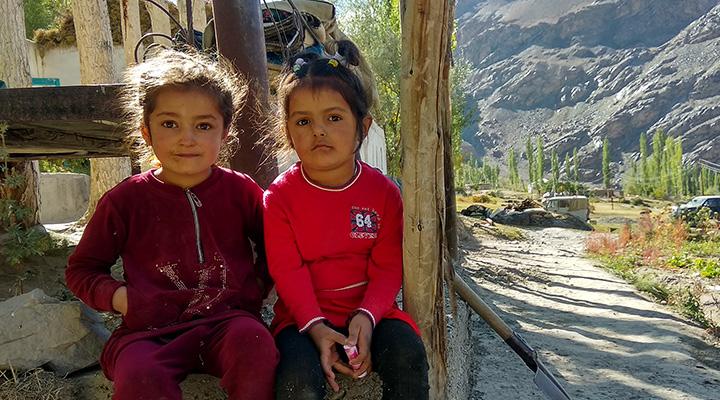 Памирские дети.