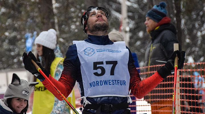 Кирилл Вшивцев перед стартом.