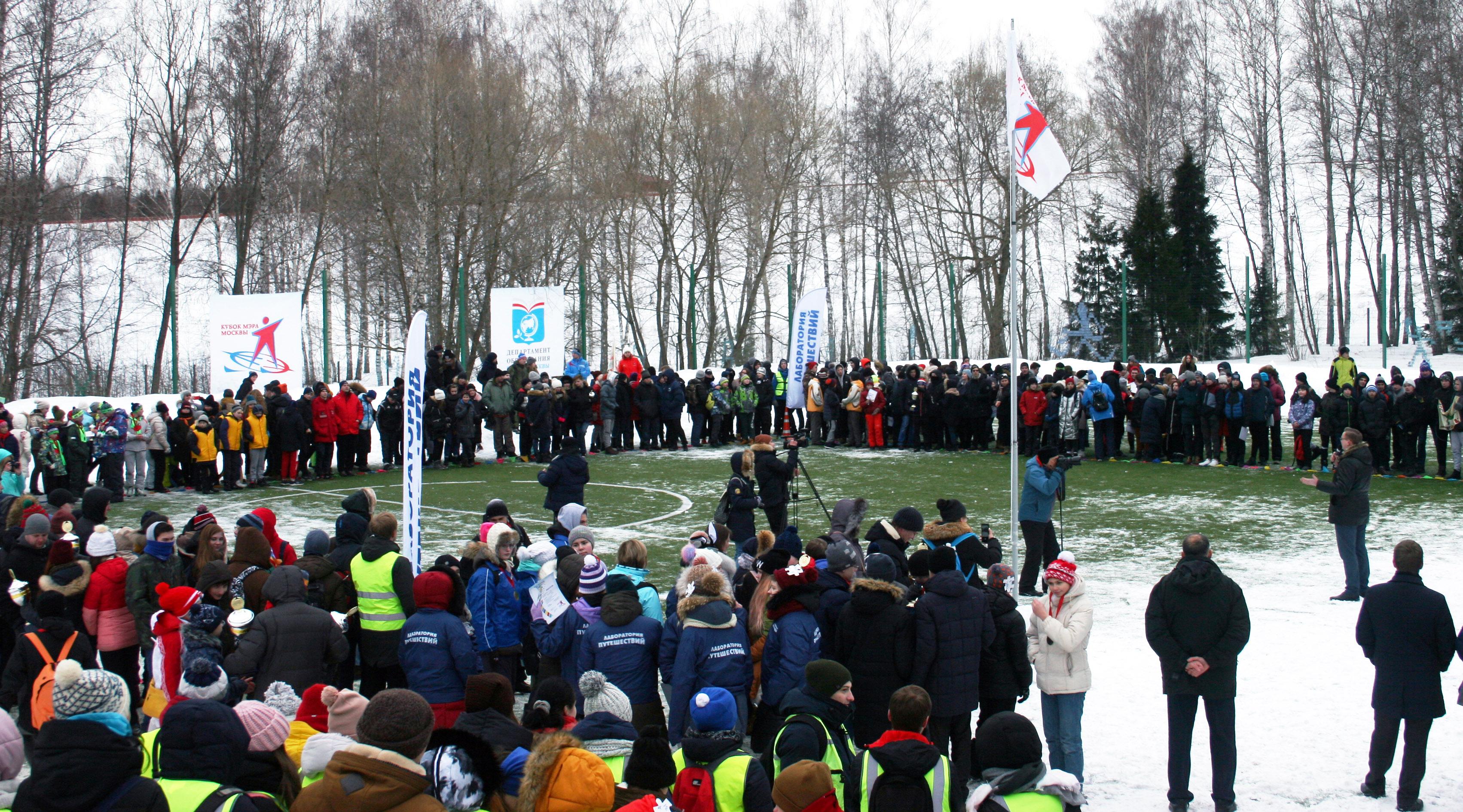 За кубки мэра Москвы боролись 235 юных спортсменов.