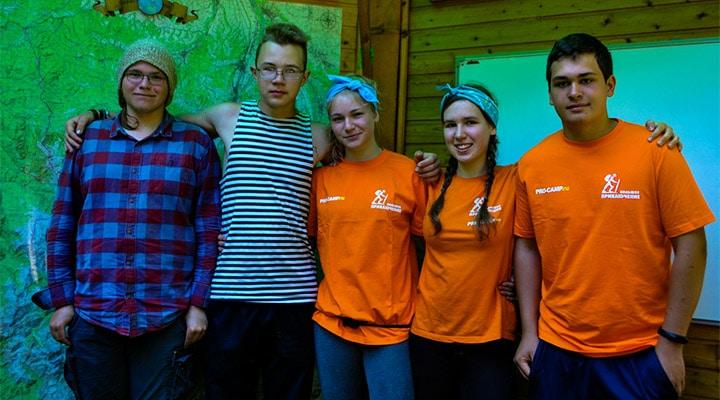Волонтеры второй волны: Никита Чивозерцев, Алексей Филатов, Екатерина Приворова, Даша Семешкина, Максим Савицкий.