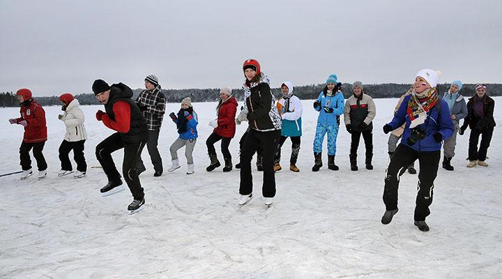 Студенческий лагерь на зимние каникулы 2020 года