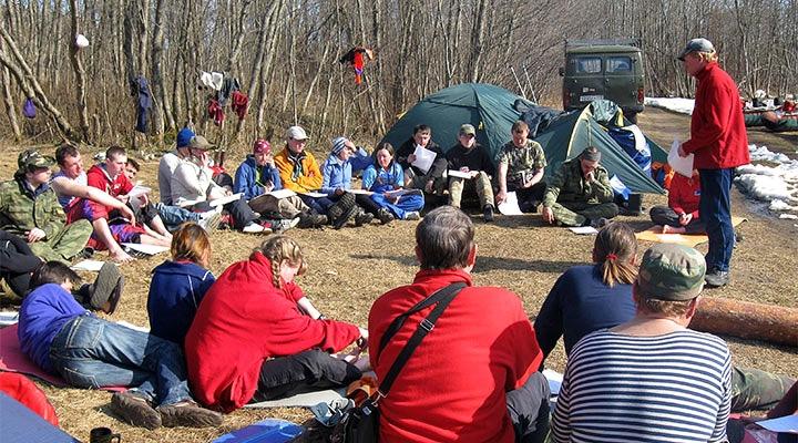 Учебный поход 2 кат. сложности пройдет в апреле на Мсте.